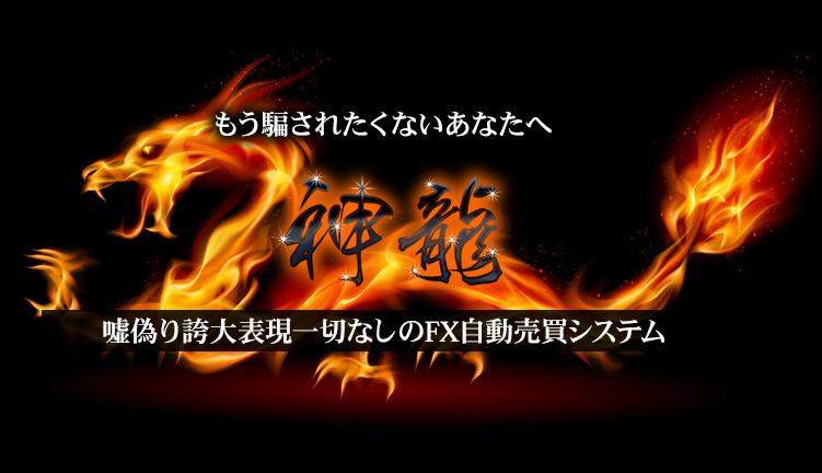 ※11月31日迄!FX自動売買システム「神龍」について